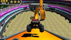 3d monster truck stunt racing 3d monster trucker stunt driver trials 2 simulator game by play