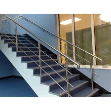 Stainless Steel Stair Handrails Stainless Steel Stair Railing At Rs 450 Square Feet Odhav