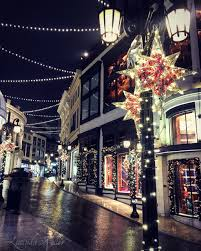 beverly hills christmas lights cobalt violet christmastime in los angeles rodeo drive and pasadena