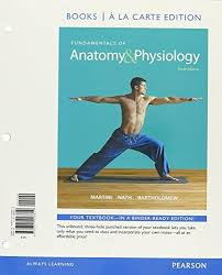 Pearson Anatomy And Physiology Lab Manual Isbn 9780134542904 Fundamentals Of Anatomy And Physiology Books