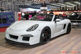 ruf porsche porsche boxster tuned by ruf with the r3800s nordschleife autoblahg