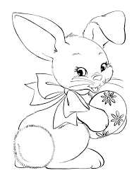 little and lovely diy easter coloring book pages