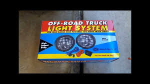 Led Off Road Lights Cheap How To Install Off Road Lights Diy Cheap Harbor Freight Road Shock