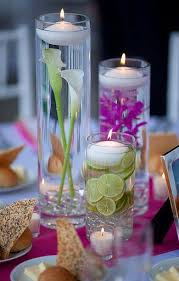 candle centerpiece diy floating candle centerpiece ideas