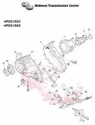 1988 dodge ram transmission np242 jeep liberty durango dakota hummer rebuilt