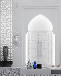 horseshoe arches are extremely common in moroccan design and