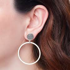 hoop la earrings hoopla earring ruby tuesday accessories