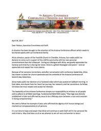 arizona conference issues statement on bisexual u0027pastor u0027 u2014 fulcrum7
