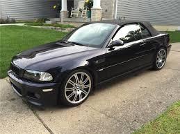 Bmw M3 Convertible - 2005 bmw m3 convertible 6m t e46 carbon black panjo