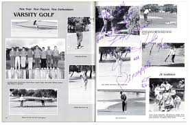 cbell high school yearbook lot detail tiger woods high school yearbook with early
