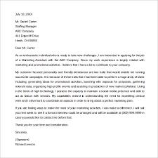 marketing cover letter marketing cover letter templates tomyumtumweb