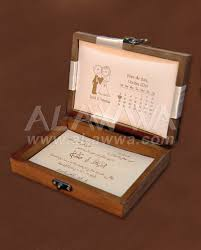 wedding invitations in a box wooden box wedding invitation 10120 alawwa العو ا
