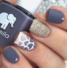 35 gray nail art designs grey nail polish gray nails and gold