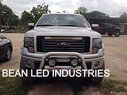 jeep light bar grill a new ford f150 with a custom mounted 31