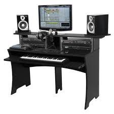 bureau studio musique glorious dj workbench black woodbrass com