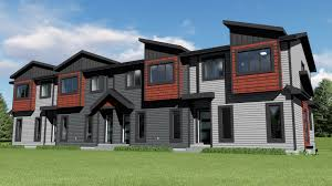 fourplex house plans multi family fourplex 0504 kenzo home designs