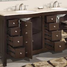 Double Sink Vanity 48 Inches Bathroom Wonderful Double Sink Vanity With Lovely Mirror For