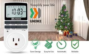 light timer ukoke timer outlet appliance timer with outlet 7