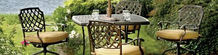 Patio Furniture Pub Table Sets - outdoor tables bar height tables outdoor patio furniture