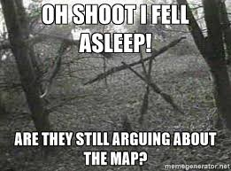 Witch Meme - blair witch project map meme by candyscalibrator on deviantart