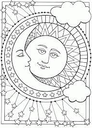 photos moon sun coloring pages sun moon