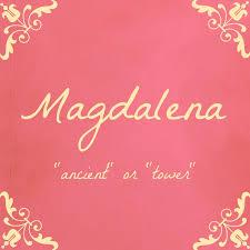 mean names beloved baby names name crush monday magdalena