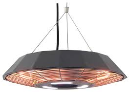 Outdoor Electric Heaters For Patios Energ Infrared Electric Outdoor Heater Hanging Modern Patio