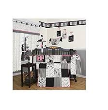 Boutique Crib Bedding Geenny Boutique Crib Bedding Set Beautiful Black