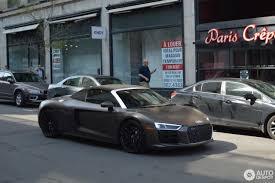 Audi R8 Matte - audi r8 v10 spyder 2016 23 may 2017 autogespot