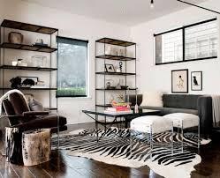 Zebra Area Rug Brilliant Rug Living Room Using Zebra Print Area Rugs Metal