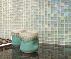 Recycled Glass Backsplash by Dichroic Glass Backsplash By Danenberg Design