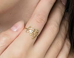 name ring gold gold name ring etsy