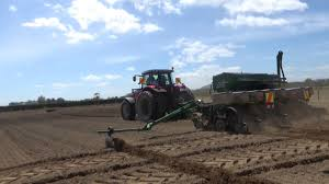 Great Plains Planter by Great Plains Twin Row Maize Planter Youtube