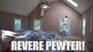 revere pewter benjamin moore youtube