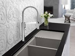 Faucets Kitchen by Kitchen Faucet Silver Kitchen Sink Faucets On Marble Countertops