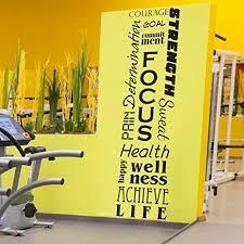 home gym wall decor home gym decor amazon com