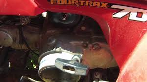 honda trx 70 no spark fix try this first youtube