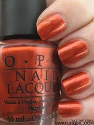 the only burnt orange nail polish you need to know about is opi u0027s