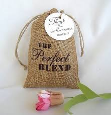 burlap favor bags thank you burlap favor bags coffee favor bags the