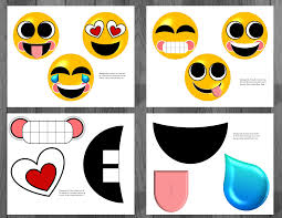 office depot invitations printing emoji printable birthday supplies emoticon smiley happy face