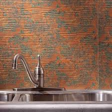 copper wall panels pressed metal splashback by sydney pressed