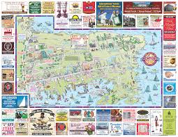 Rhode Island On Map Rhode Island Map Tourist Attractions Travel Map Vacations