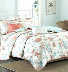 Coastal Bed Sets Coastal Bedding In A Bag Themed Quilts Themed