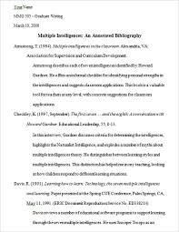 annotated bibliography templates free word u0026 pdf format