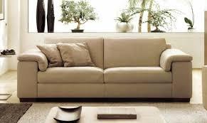 mobilier de canapé cuir déco salon cuir beige inside canapé cuir beige 3 places meubles