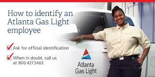 atlanta gas and light avoid utility scams