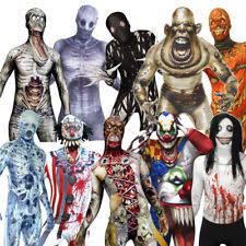 5xl Halloween Costumes Mens Skeleton Costume Ebay