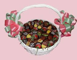 dipped fruit baskets baskets by expressions gift baskets chocolate gifts and baskets