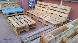 canapé fait maison terrasse en bois avec canapé tendance luxe canape fait avec des