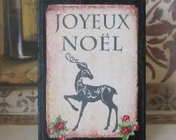 french christmas decorations etsy